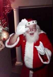 Santa Visits Maddie